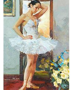 Vladimir Trush - Baletka před zrcadlem