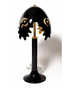 Stolní lampa Fiordi černá 314/70
