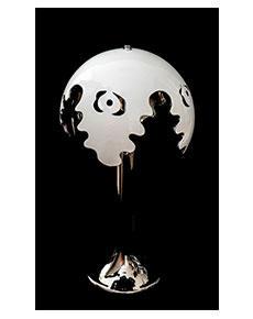 Stolní lampa Fiordi bílá 316/70