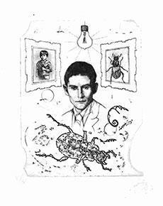 Günter Hujber - Soubor Franz Kafka - Proměna