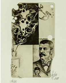 Günter Hujber - Franz Kafka 5 ks