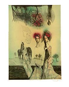 Katarína Vavrová - Nanebevstúpenie stromov III