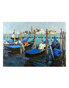 Vladimir Trush - Modré Benátky