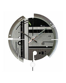 Nástěnné hodiny Samada Silver