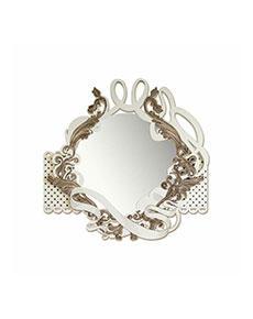 Nástěnné zrcadlo Marrone Shaby