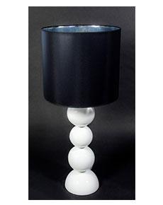 Stolní lampa Perlage bílá 45/90