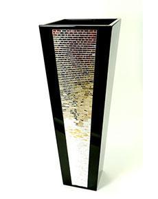 Ručně vyrobená váza Cachaeira černá