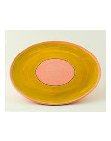 Keramický talíř Rometti Solar I růžový