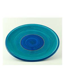 Keramický talíř Rometti Solar II modrý