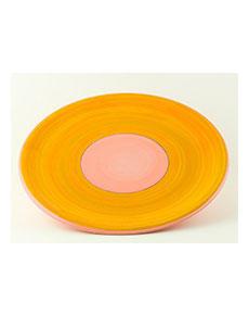 Keramický talíř Rometti Solar II růžový