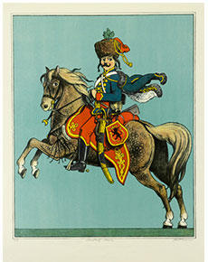 Karel Toman - Maďarský husar