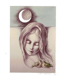 Zdeňka Burgetová - Měsíc