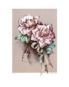 Zdeňka Burgetová - Růže
