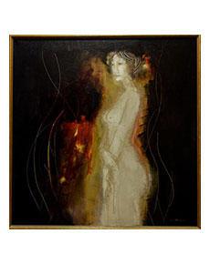 Bořek Zeman - Žena v podzimní náladě