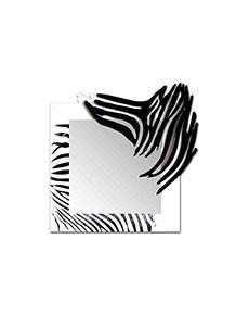 Nástěnné zrcadlo Zebra