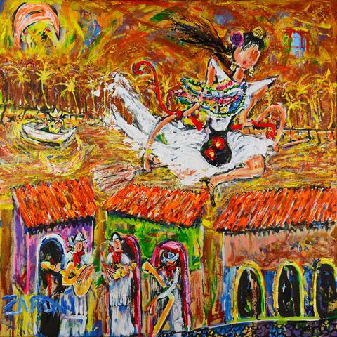 Manuel Zardain - Tanečnice a kapela