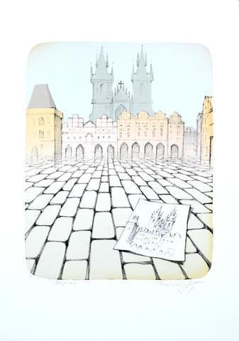Josef Velčovský - Staroměstské náměstí