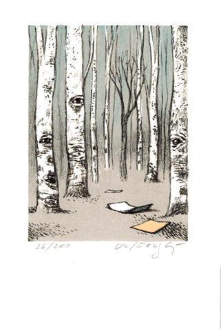 Josef Velčovský - Finský les
