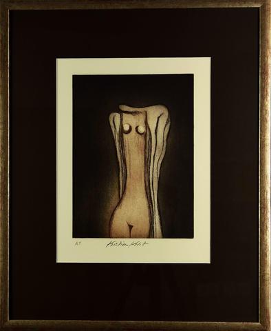 Kristian Kodet - Žena v drapérii