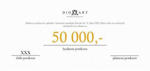 Dárkový poukaz 50 000 Kč - 1