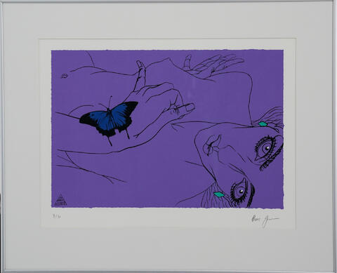 Boris Jirků - Dívka s motýlem II