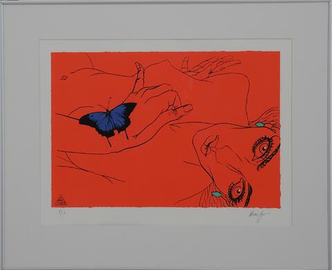 Boris Jirků - Dívka s motýlem