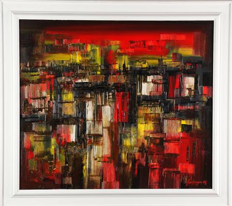 Ilja Hartinger - Večer nad městem