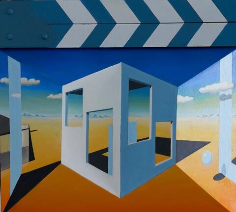 Karel Dokoupil - Krajina 3D