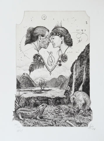 Günter Hujber - Nový Zéland I (Maorský pozdrav)