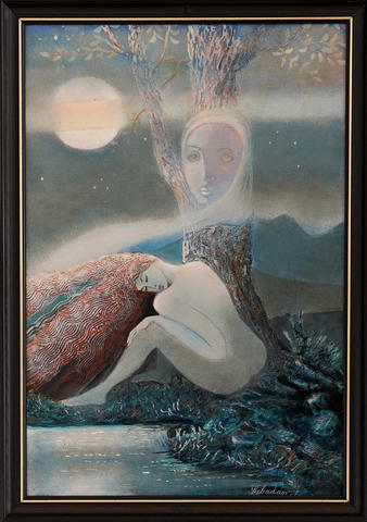 Jan Sabadasz - Větrná noc