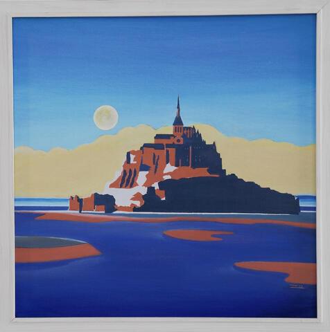 Karel Dokoupil - Mont Saint Michel II
