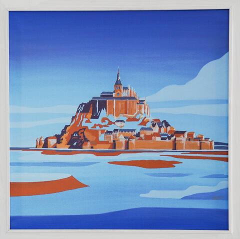 Karel Dokoupil - Mont Saint Michel