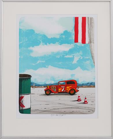 Tomáš Bím - Červené auto