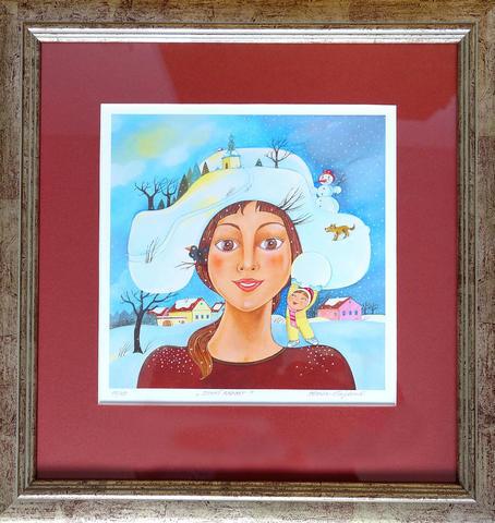Vlasta Švejdová - Zimní radost