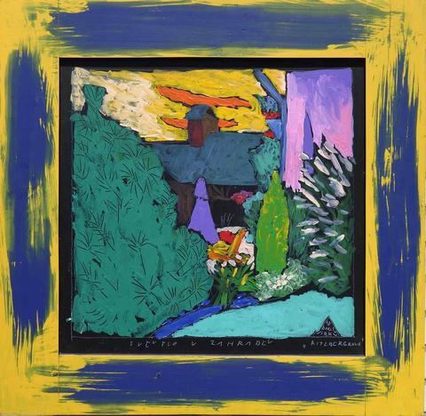 Boris Jirků - Světlo v zahradě