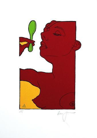 Boris Jirků - Dívka se zelenou lžící