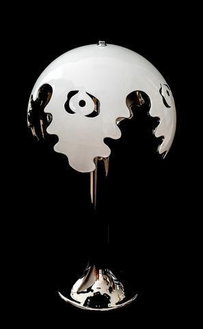 Stolní lampa Fiordi bílá 316/70 - 1