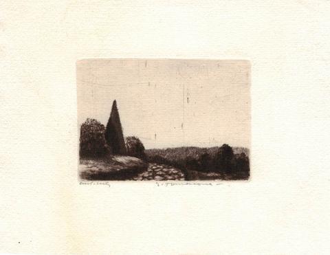 Emílie Tomanová - Krajina II
