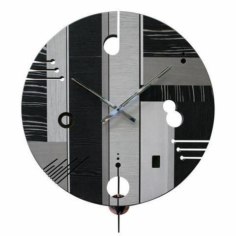 Nástěnné hodiny Essential Dark - 1