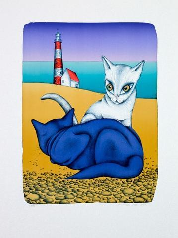 František Pon - Na pláži