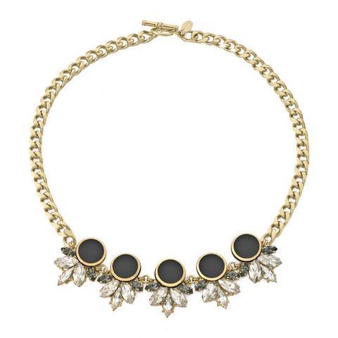 Pozlacený náhrdelník Gotham City GC 1.10