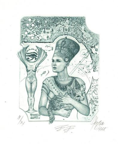 Günter Hujber - Nefertiti