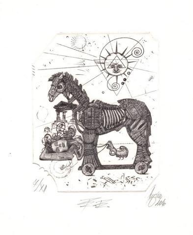 Günter Hujber - Trojský kůň