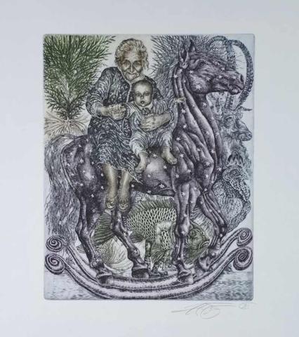 Hana Čápová- Houpací kůň