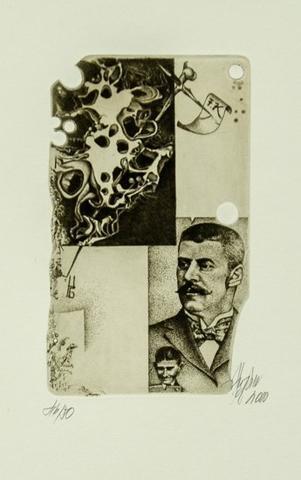 Günter Hujber - Franz Kafka 5 ks - 1