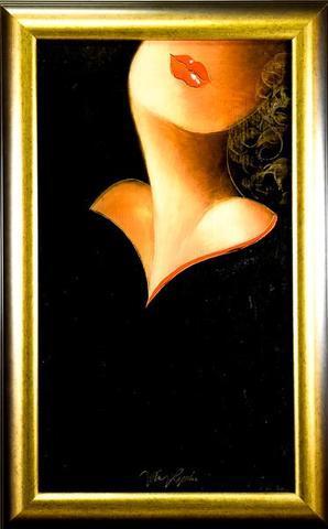 Jan Rapin - Dívka v černém