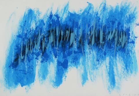 Jan Svoboda - Modrá abstrakce
