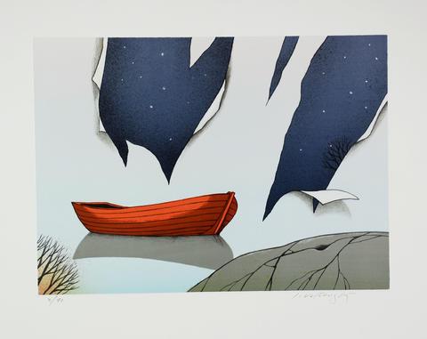 Josef Velčovský - Útržky letní noci