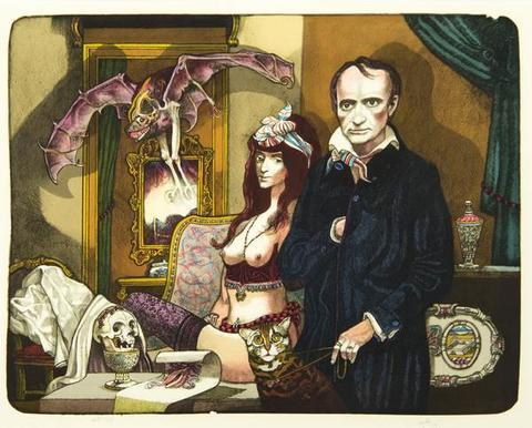 Josef Liesler - Baudelairova nevěsta