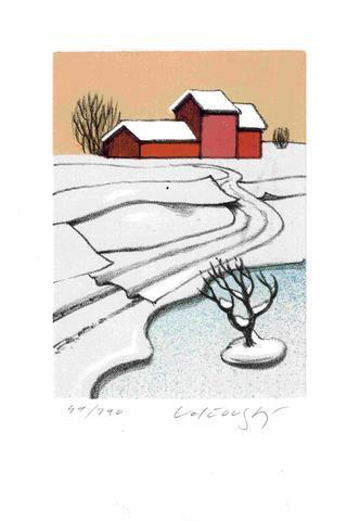 Josef Velčovský - Finská zima